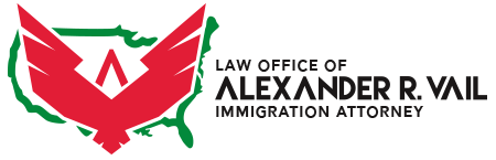 Logo, Law Office of Alexander R. Vail